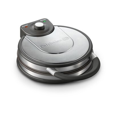 Calphalon Kitchen Electrics No Peek Round Waffle Maker