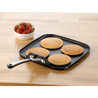"Calphalon Simply Enamel 11"" Square Griddle"