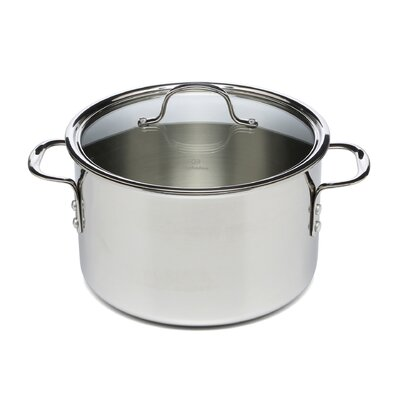 Calphalon Tri-Ply Stainless Steel 8-qt. Stock Pot with Lid