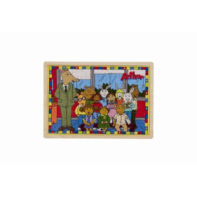PBS Wooden Puzzle Swimming Pool and New Glasses