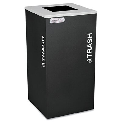 Ex-Cell Kaleidoscope Collection Recycling Receptacle, 24 Gal