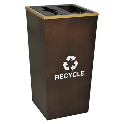 Ex-Cell Metro Indoor Recycling Receptacle