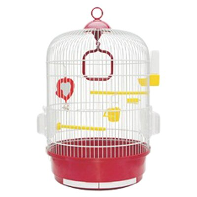 Living World Bird Cage with 2 Perches
