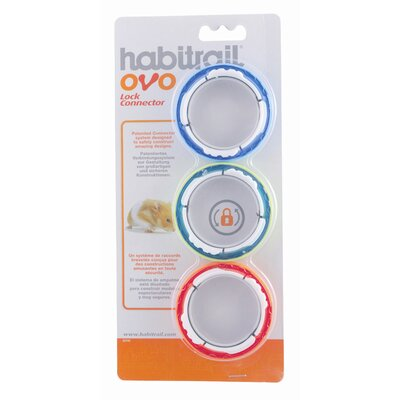 Hagen Habitrail Ovo Lock Connectors for Hamster Homes