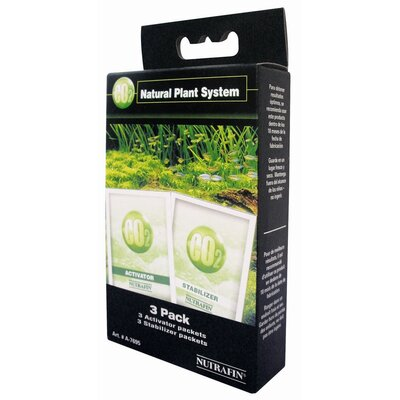 Hagen Marina CO2 Natural Plant System Activator and Stabilizer Refill Pack