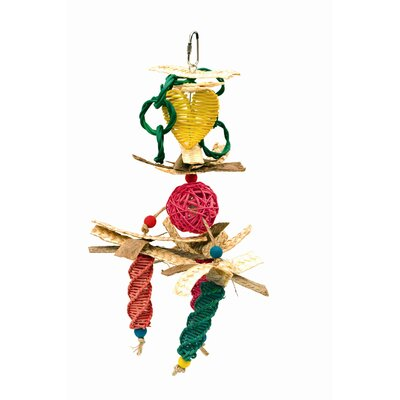 Hagen Living World Nature's Treasure Wicker Mobile Bird Toy