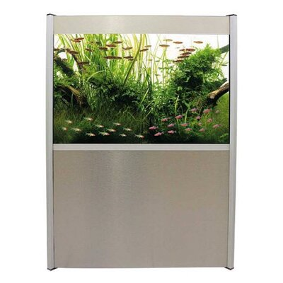 Hagen Fluval Profile Complete 72 Gallon Aquarium Set with Silver Trim