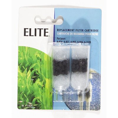 Hagen Elite Goldfish Bowl Filter Cartridge - 2 Pack