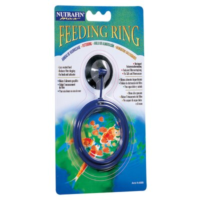 Hagen Nutrafin Max Fish Food Feeding Ring with Suction Cup (Blister Packed)