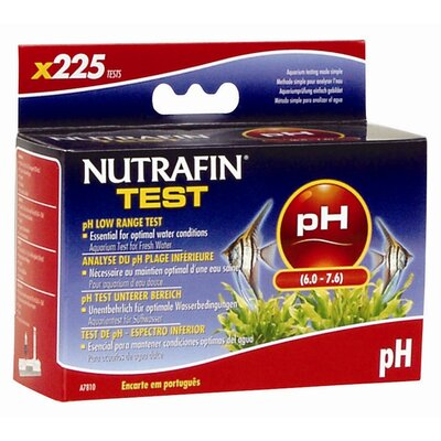 Hagen Nutrafin pH Low Range Freshwater Aquarium Test Kit - 225 Test