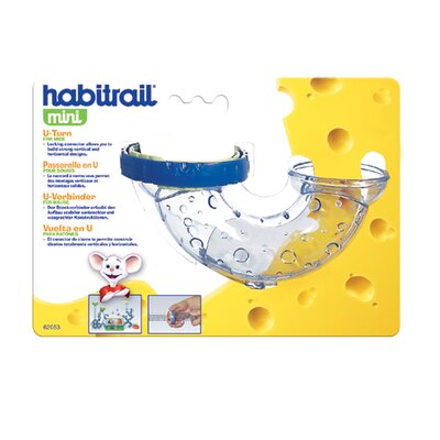 Hagen Habitrail Mini U-Turn with Lock Connector Hamster Cage Accessories