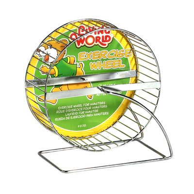 Hagen Living World Chrome Plated Hamster Exercise Wheel