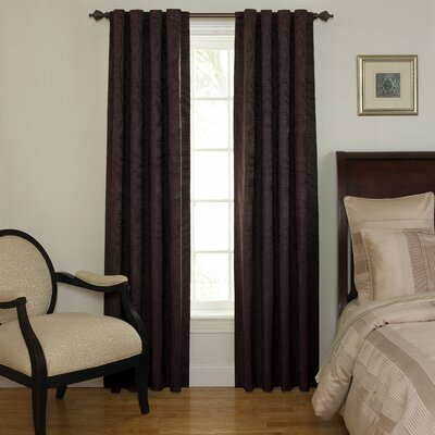 Sound Asleep Room Darkening Rod Pocket Window Curtain Single Panel