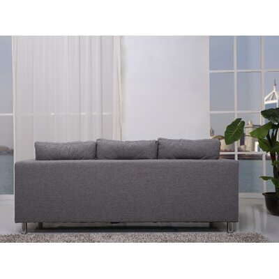 Gold Sparrow Detroit 4 Piece Sofa, Loveseat, Arm Chair and Ottoman Set