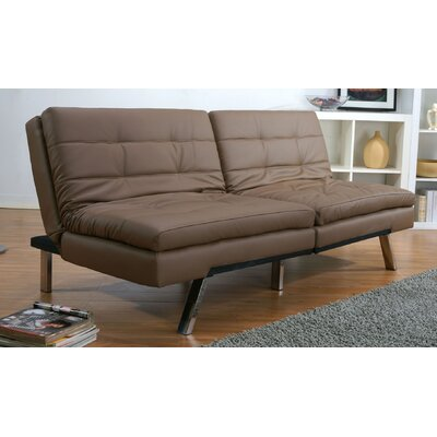 Gold Sparrow Memphis Solid Wood Futon