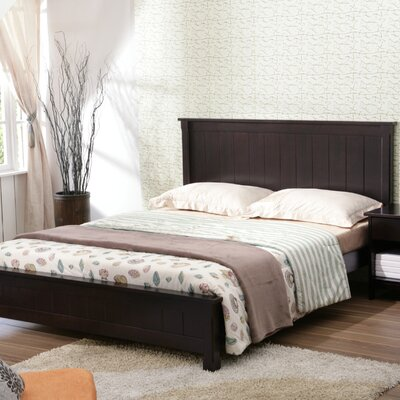 Gold Sparrow Alaska Queen Platform Bed