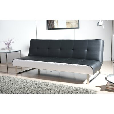 Gold Sparrow Seattle Leather Convertible Sofa