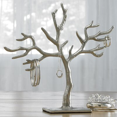 St croix kindwer 20 branch casted tree of life jewelry for Tree branch jewelry holder