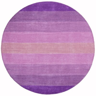 St. Croix Aspect Purple Stripes Rug