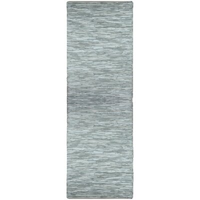 St. Croix Matador White Leather Chindi Rug