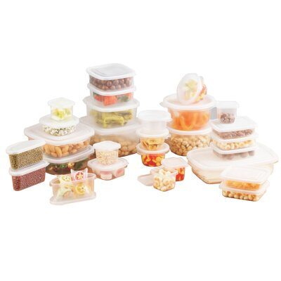 Ragalta 60 Piece Plastic Storage Set