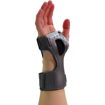 Bell-Horn Ortho Armor Carpel Tunnel in Gray / Black
