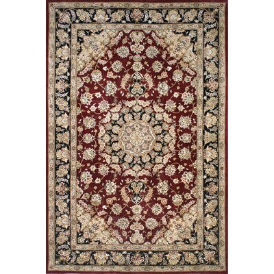 American Home Rug Co. Premier Burgundy/Black Rug