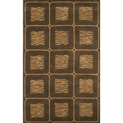 African Safari Beige/Brown Animal Magnetism Rug
