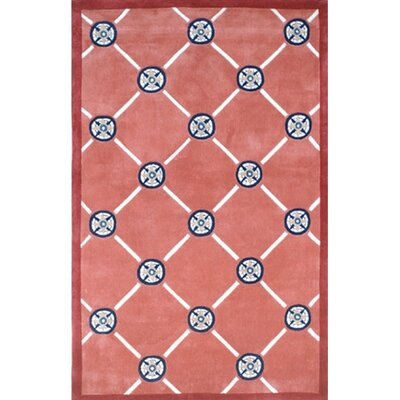 Beach Rug Peach Compass Novelty Rug