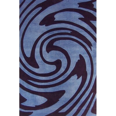 Modern Living Jazzy Blue/Black Rug