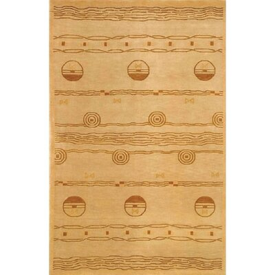 American Home Rug Co. Neo Nepal Gold/Brown Ocean Vibes Rug