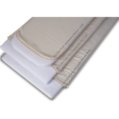Moonlight Slumber Natural Cotton Changing Table Pad