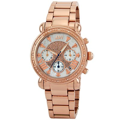 Women's Victory Diamond Bezel Watch in Rose Gold