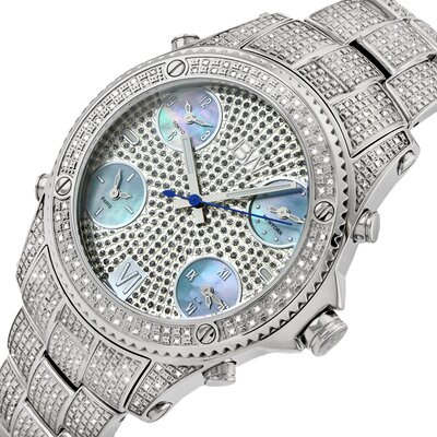 JBW Jet Setter Five Time Zone Diamond Watch