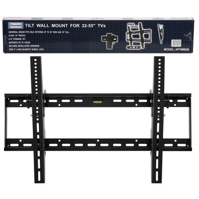 "Cheetah Mounts Flat Tilt Wall Mount (32"" - 65"" Screens)"