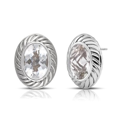Élan Jewelry Sterling Silver Gemstone Earrings