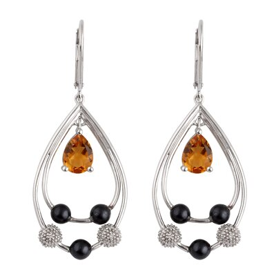 Élan Jewelry Gemstone Drop Earrings