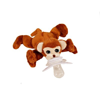 Paci-Plushies Milo The Monkey Pacifier Holder