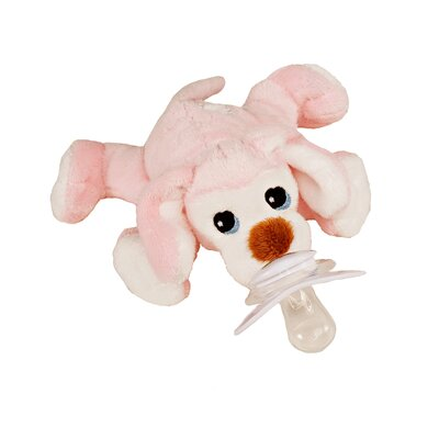 Paci-Plushies Pixie The Puppy Pacifier Holder