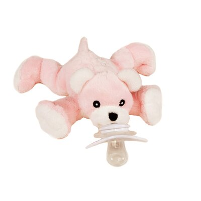 Paci-Plushies Baby The Bear Pacifier Holder
