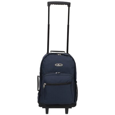 "Everest 17"" Telescoping Rolling Backpack"