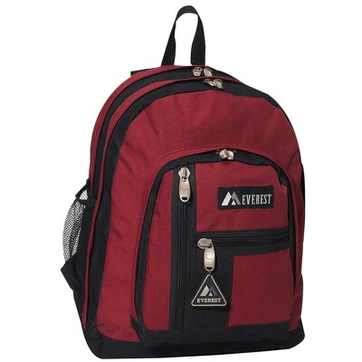 "Everest 16.5"" Double Compartment Backpack"