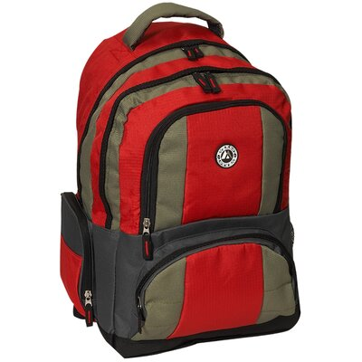 "Everest 12"" Deluxe Double Compartment Backpack"