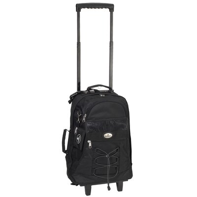 "Everest 18"" Telescoping Rolling Backpack"