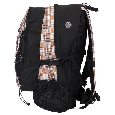 "Everest 19"" Deluxe Plaid Backpack"