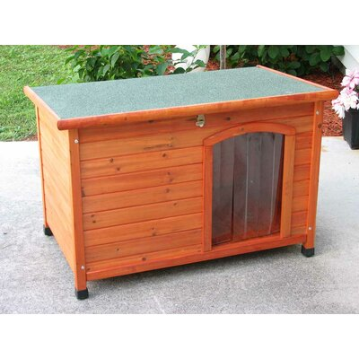 Crown Pet Products Slant Roof Cedar Dog House