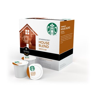 Keurig Starbucks House Blend Coffee K-Cups (Set of 96)