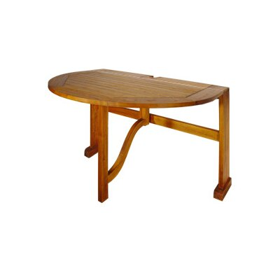 Blue Star Group Terrace Mates Bistro Half Oval Dining Table