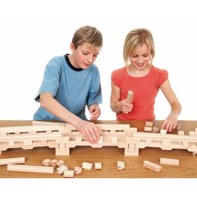 Stack and Stick Bridge Building Set