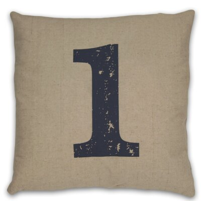 DR International Numeral 1 Pillow